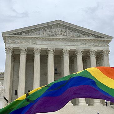 Pride Flag Supreme Court