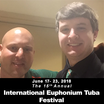 Frost Student, Jason Donnelly, Takes Home First Prize at International Euphonium Tuba Festival