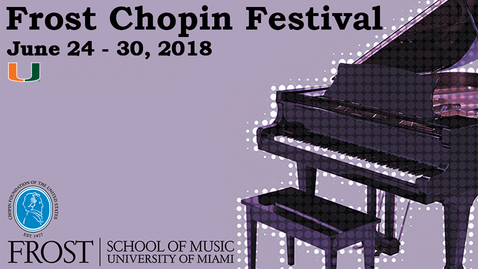 Frost School Partners with Chopin Foundation to Present Frost Chopin