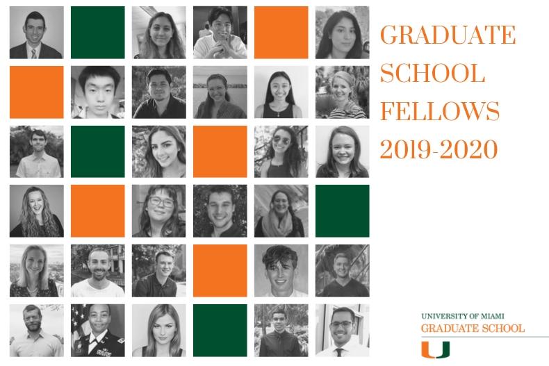 2019-2020 Fellowship Recipients