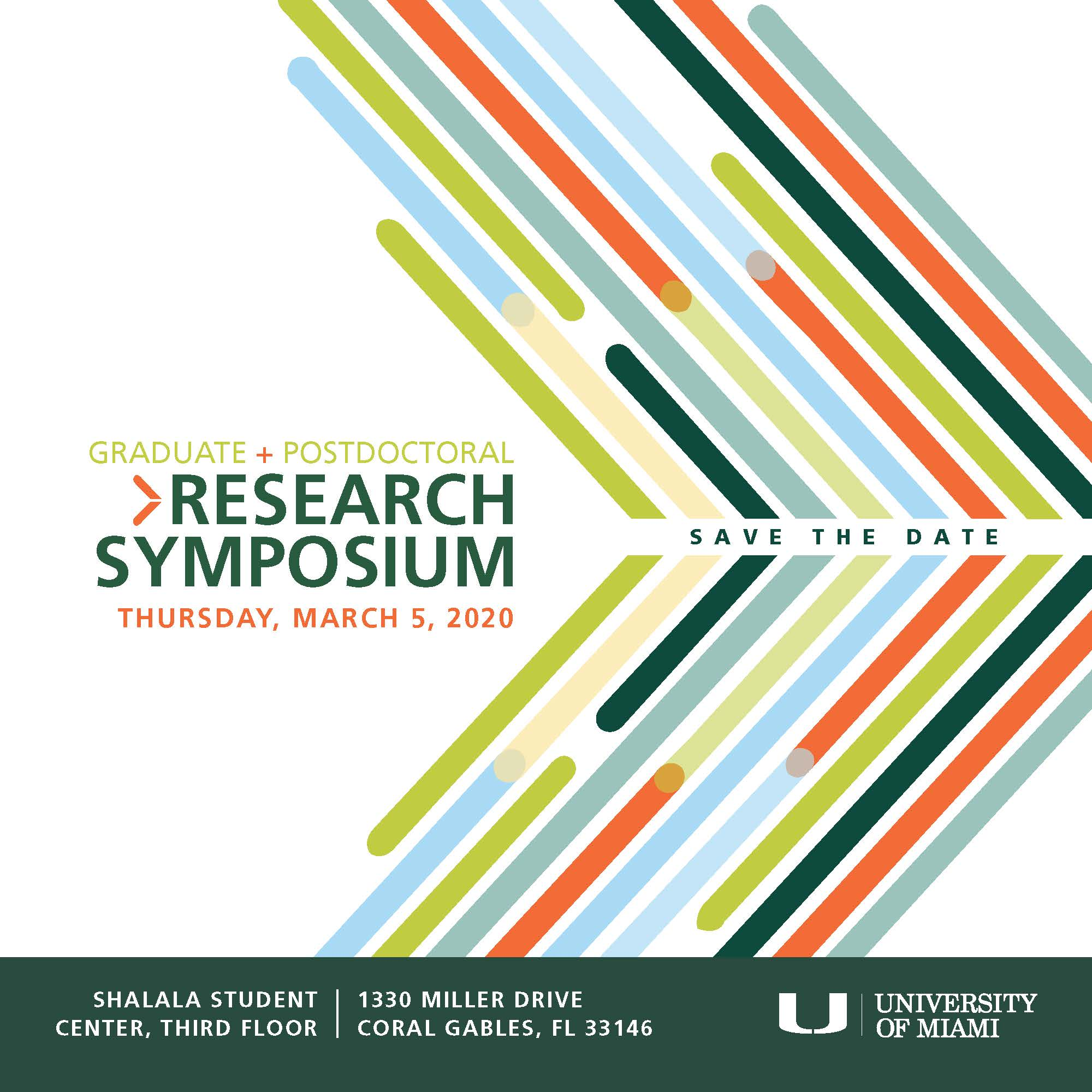 2020 Graduate and Postdoctoral Research Symposium applications now open!