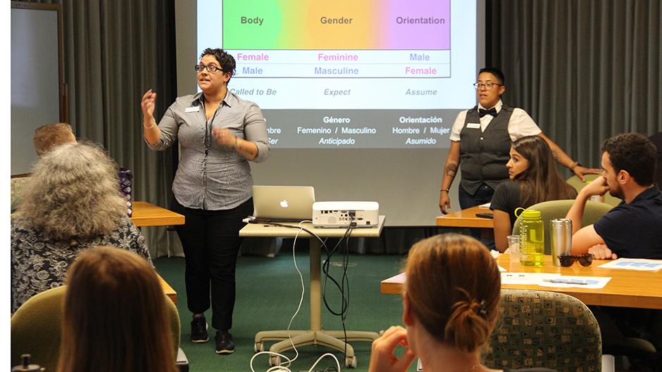 elevating diversity workshop Rosenstiel