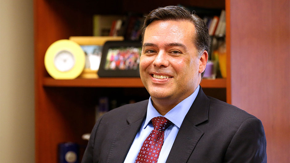 Rene Monteagudo, Director of UM Counseling Center