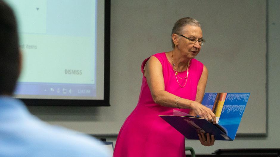 Nancy Zavac, head of Weeks Music Library