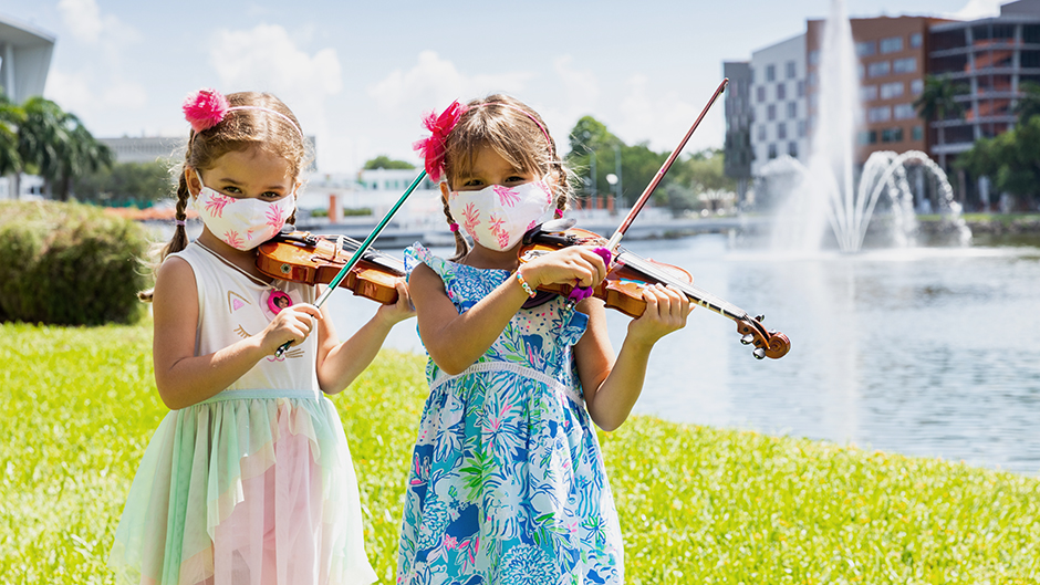 At the Frost School of Music, education starts at infancy