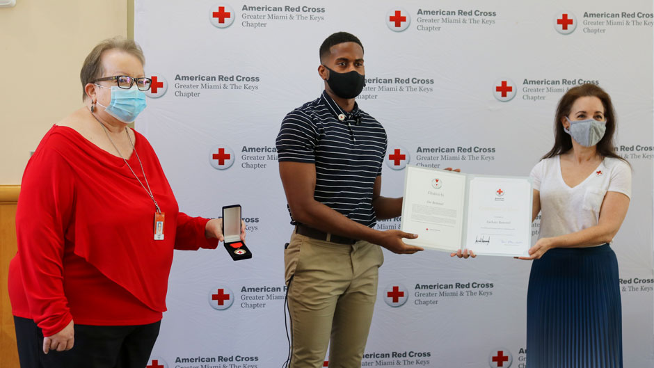 University employee honored with a lifesaving award