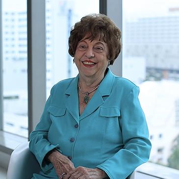 Five decades later, professor still loves her job