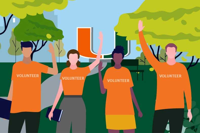 Register to volunteer for 'Cane Kickoff 2021