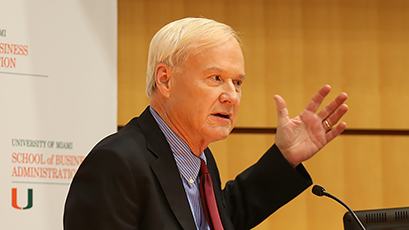 School of Business Hosts MSNBCs Chris Matthews for Discussion on Politics and Leadership