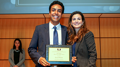 Top Students and Faculty Honored in Graduation Award Receptions