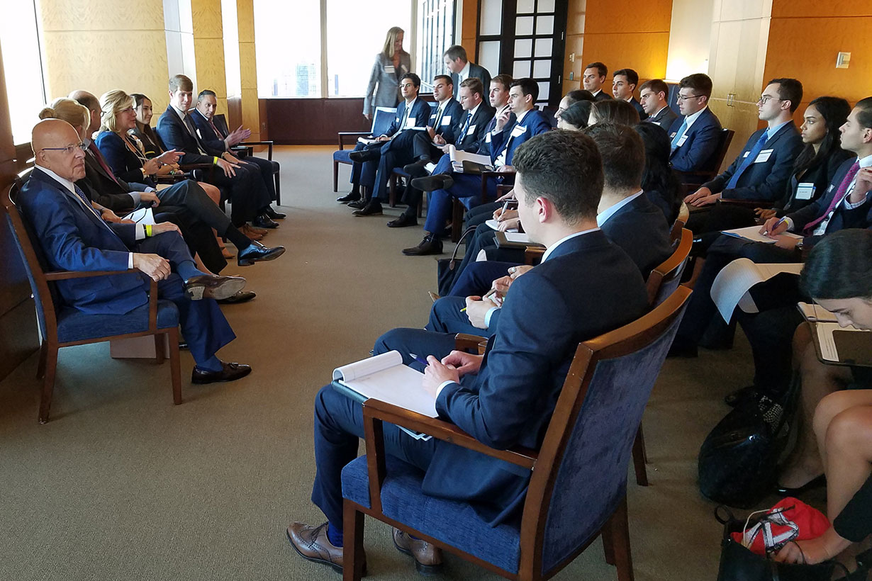 Canes Storm New York for an Up-Close Look at Careers in Finance