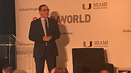 Vice Dean Sharma Keynote Speaker at GardaWorld 2018