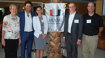 UM Team Takes First Place in Real Estate Impact Investing Competition