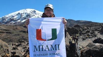 Vice Dean Cronqvist Conquers Kilimanjaro