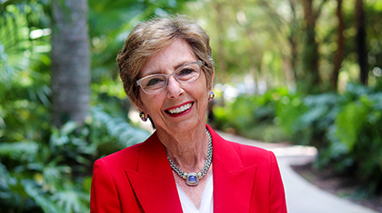 Nancy H. Bailey, BBA '66, Establishes Endowed Chair and Scholarship in Marketing