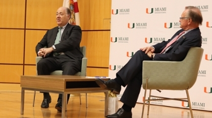 Southern Glazer's Distinguished Leaders Lecture Series Returns to MBS