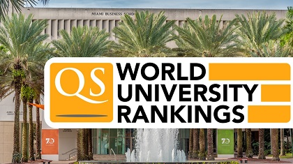 MS in Business Analytics Program Ranked #16 in the US by QS World University Rankings