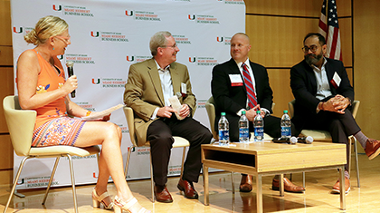 Alumni and Students Gain New Insights into Cybersecurity during Inaugural Conference