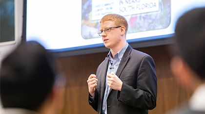 Benjamin Borenstein, PhD Marketing Student, Wins UM's 3MT Competition