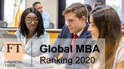 FT Ranks Miami Herbert's MBA No. 49 in the US