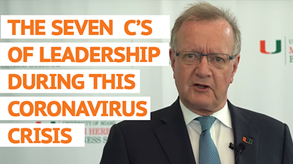 The Seven C's of Leadership During the Coronavirus Crisis