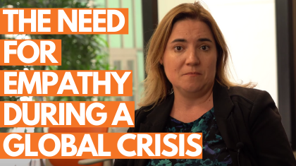 Dr. Marie Dasborough: The Need for Empathy During a Global Crisis