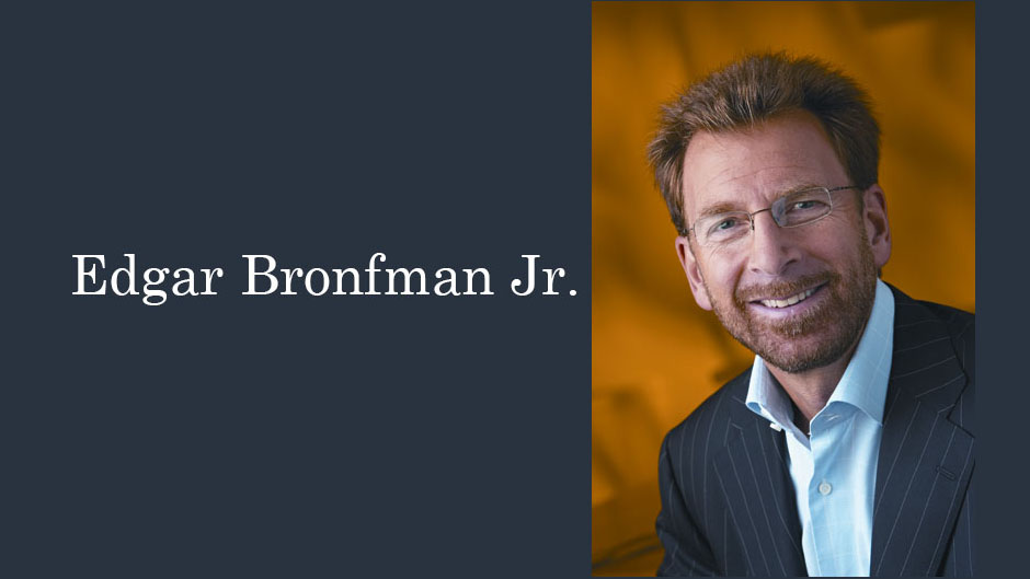 Edgar Bronfman Jr., Business Leader