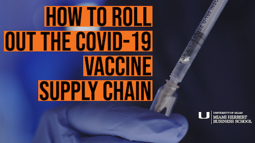 How To Build The COVID-19 Vaccine Supply Chain