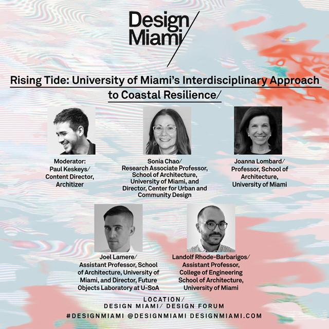 Design Miami flyer