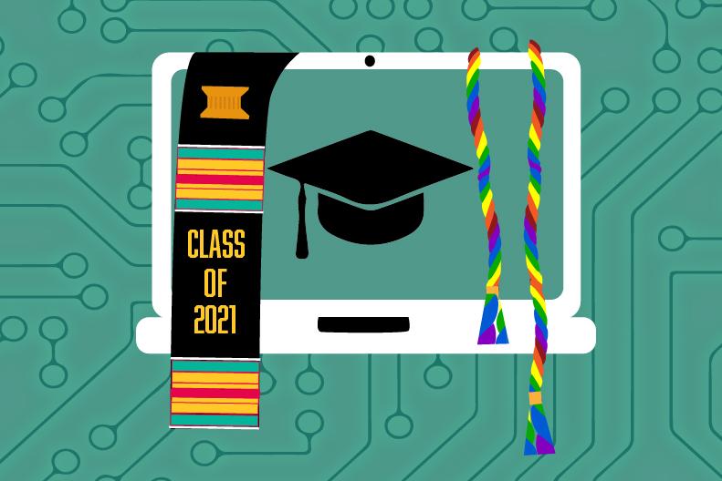 Graduation celebrations continue virtually